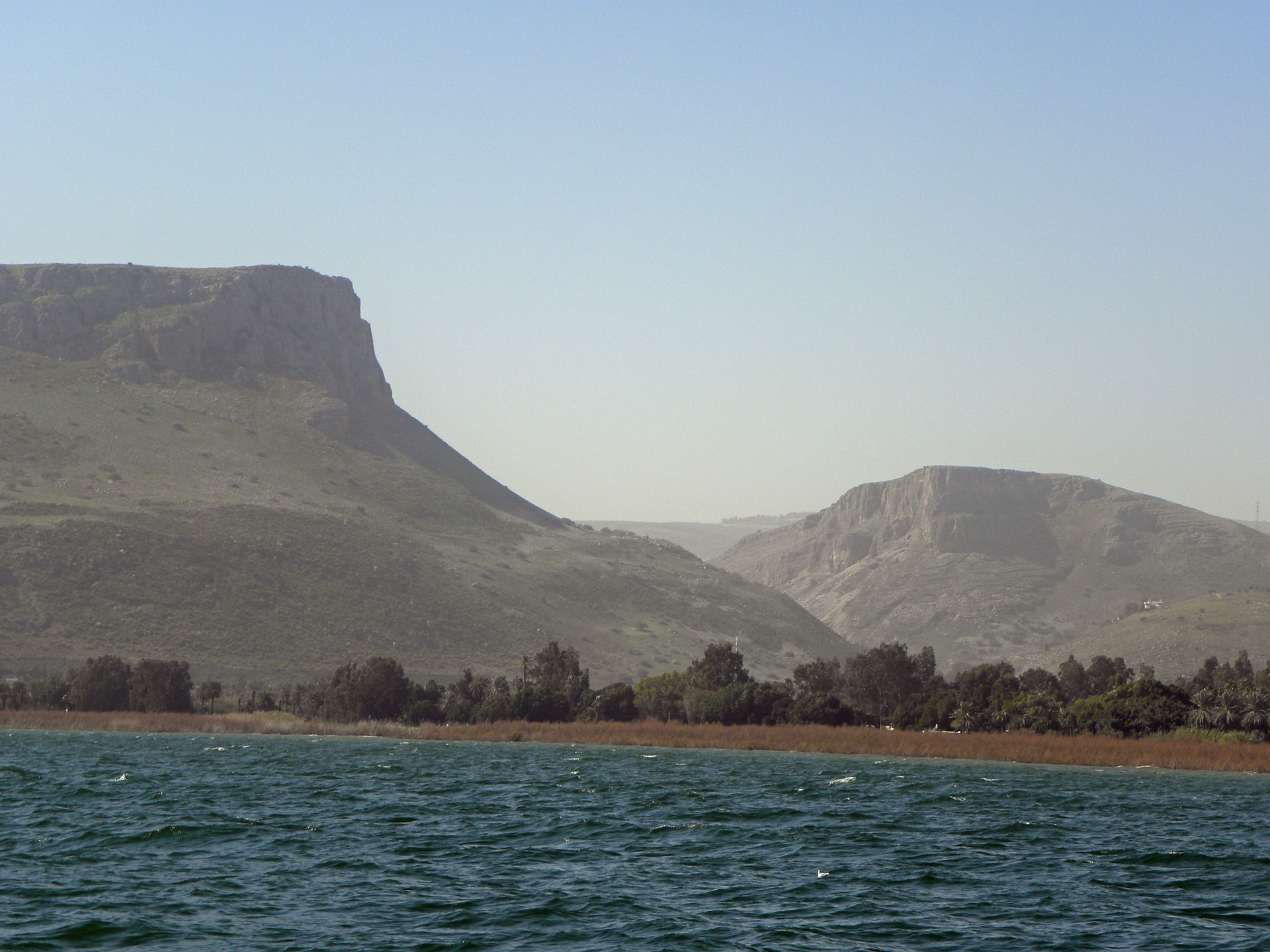 Galilejské jezero na severu Izraele