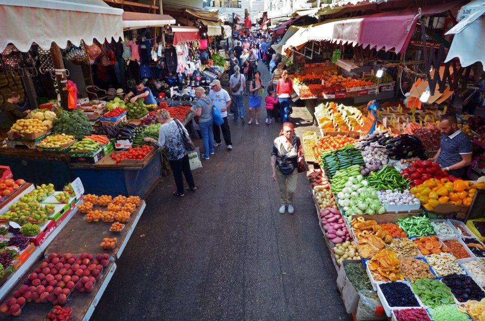 Karmelský trh v Tel Avivu