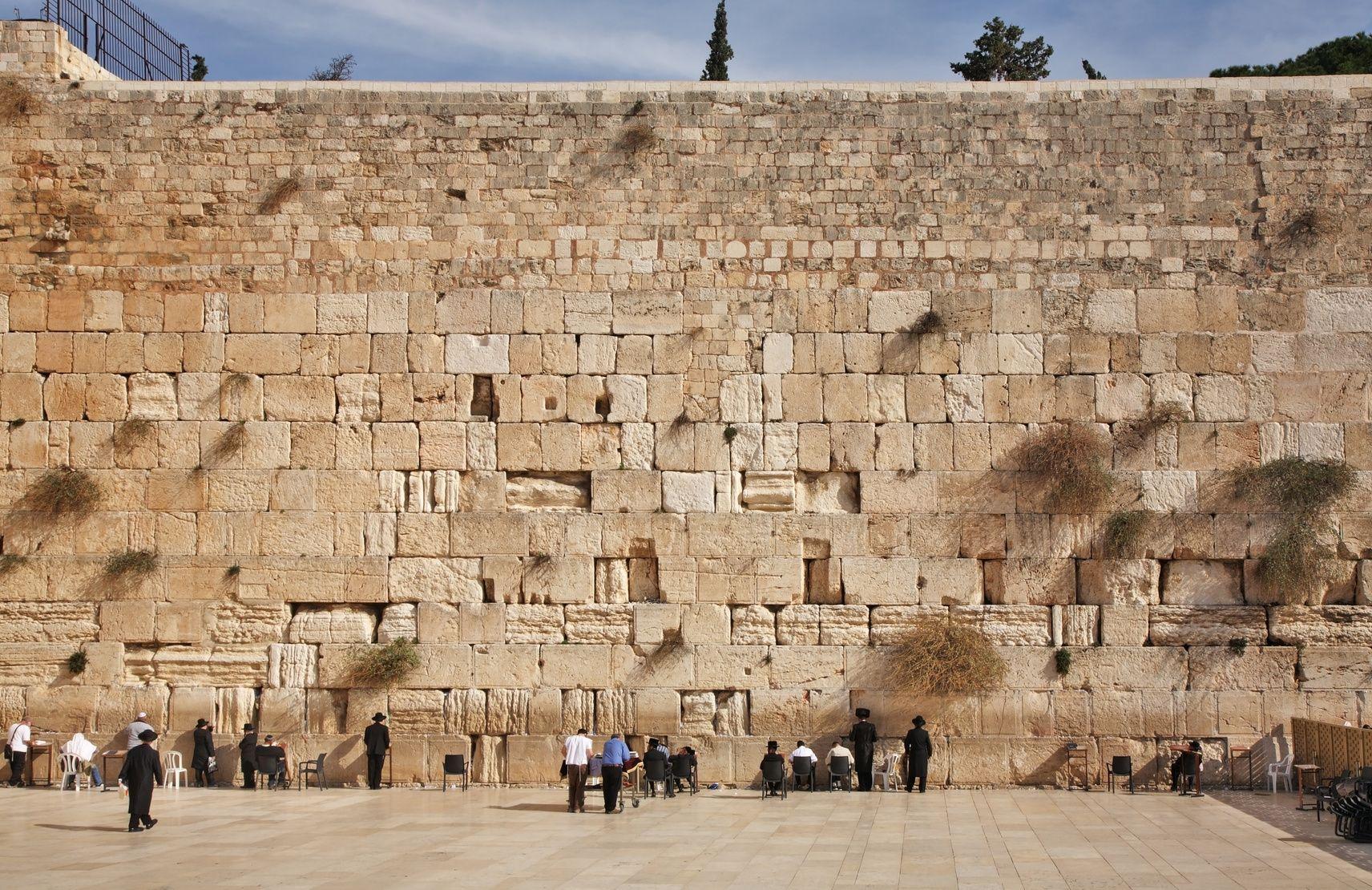 Západní zeď v Jeruzalémě