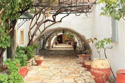 Typická řecká architektura na Korfu