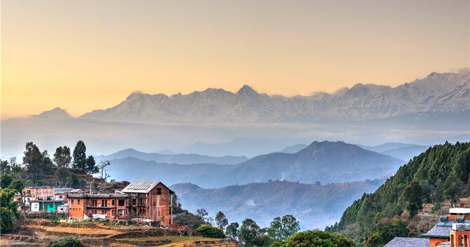 Z Bandipuru uvidíme osmitisícová pohoří Annapurna I - IV, Dhaulagiri a Manaslu